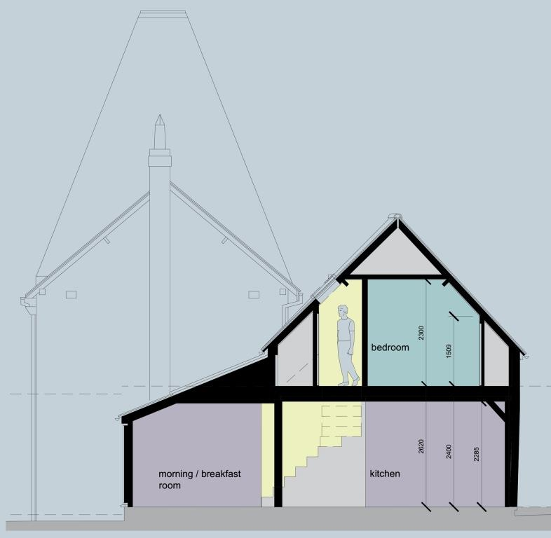 Oasthouse Conversion, Hildenborough, Kent