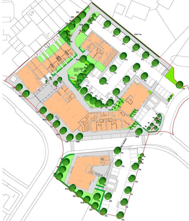 Residential Masterplan, Little Dunmow, Essex