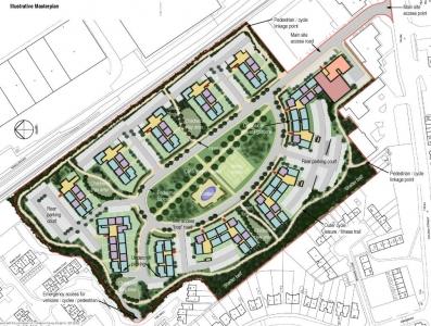 Residential Masterplan, Dukeminster Quarter, Dunstable, Bedfordshire