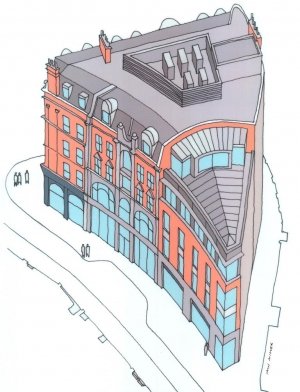 New Offices with Adaptive Re-use, London