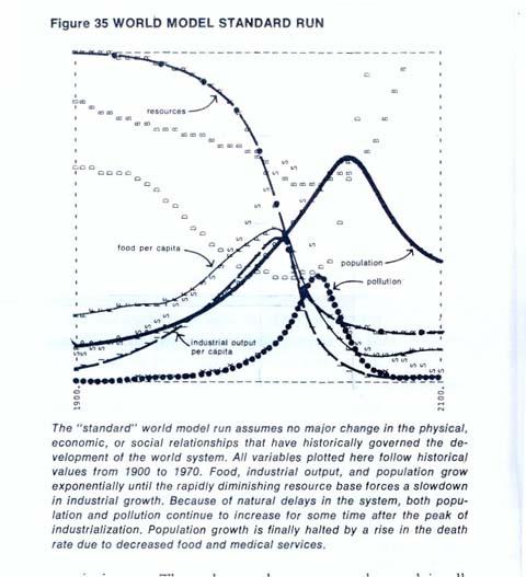 Limits to Growth 1972 World Model - Standard Run