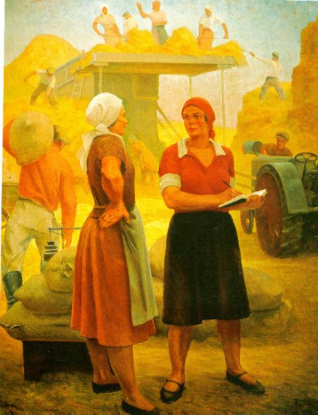 The Collective-Farm Team Leader, Grigory Ryazhsky, 1932
