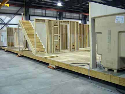 Modular home factory photo Riverview Homes