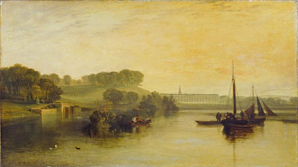 JMW Turner Petworth House from the Lake
