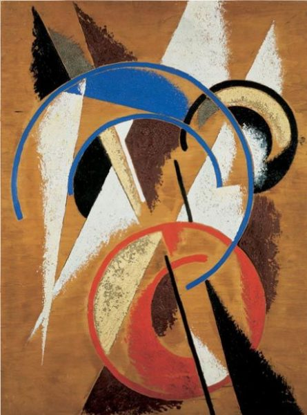Space-force Construction, Lyubov Popova 1921