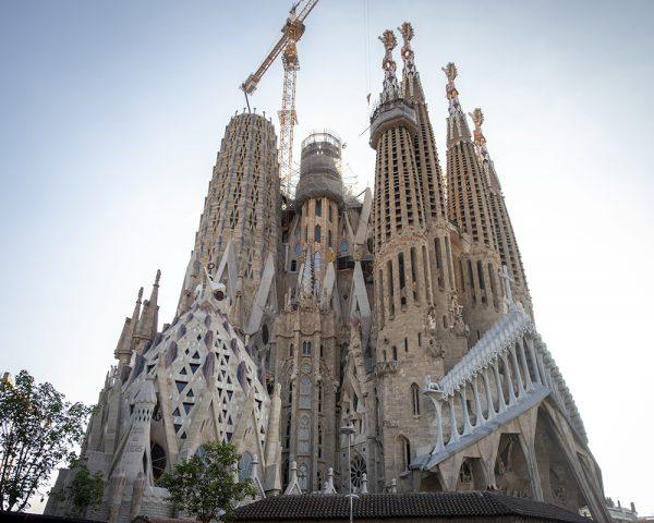 Sagrada Familia Exterior view