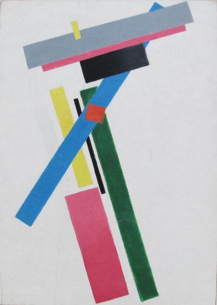 Suprematist Colour Construction, Kazimir Malevich 1928-29